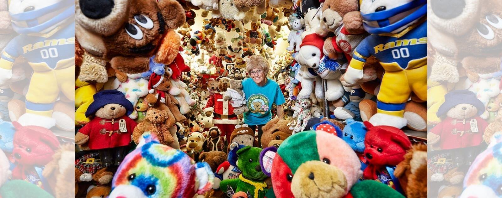 Jackie Miley et la Plus Grande Collection d'Ours en Peluche au Monde