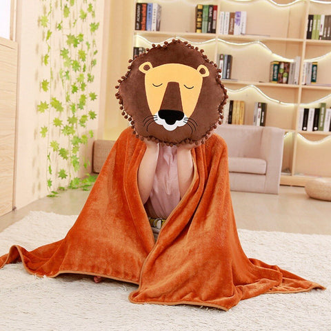 Peluche Lion Couverture