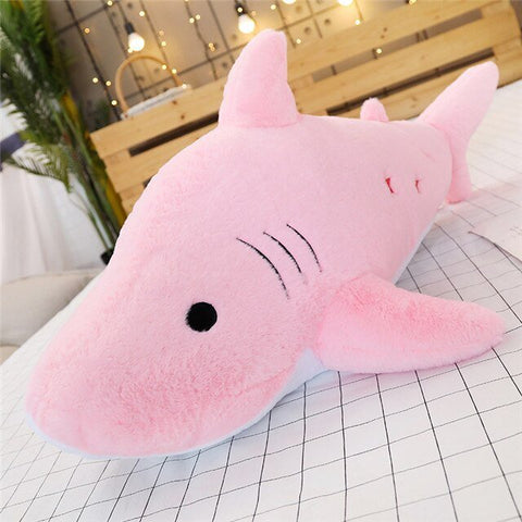 Peluche Requin Rose