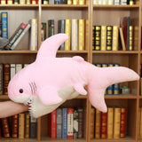 Peluche Requin Gros Yeux Rose