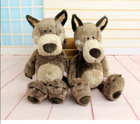 Peluche Loup Assis