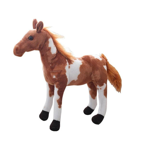 Peluche Cheval Sauvage