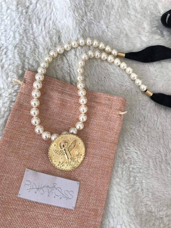 White Angel pearl necklace
