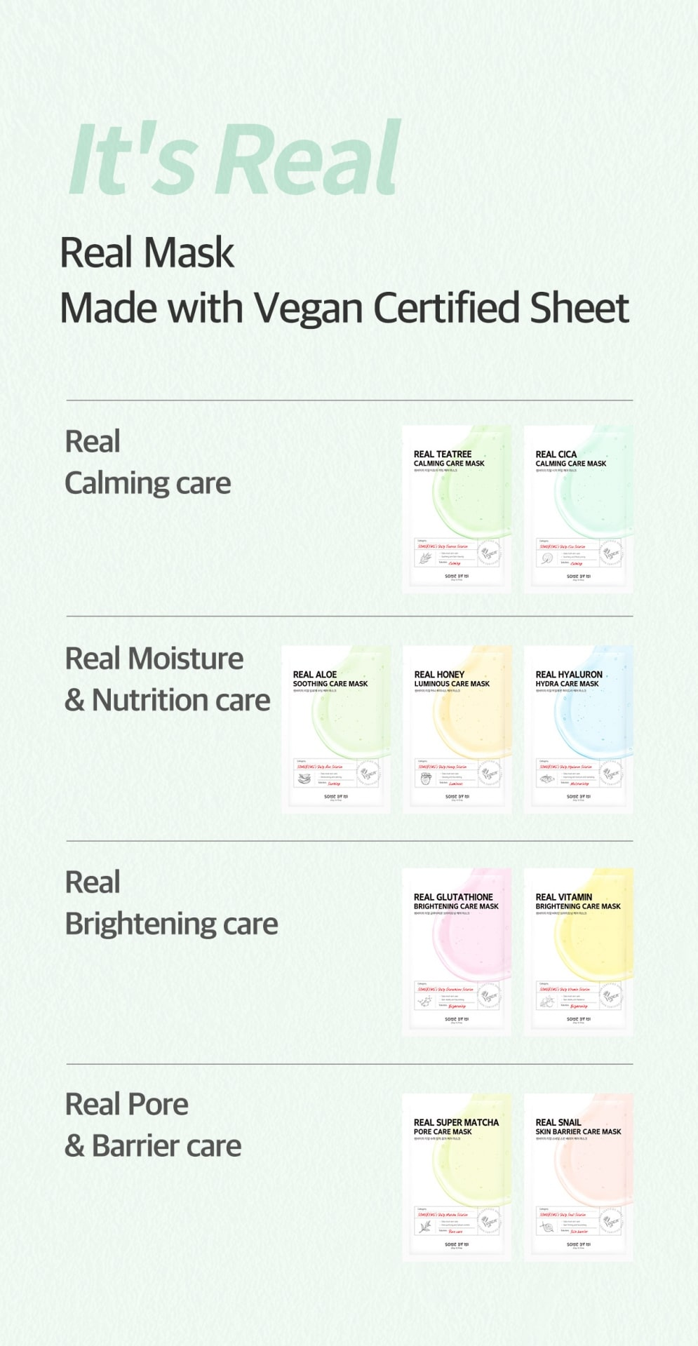 Some By Mi Care Masks