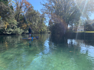Stand Up Paddle Boarding Around Florida : Crystal River Kayak and Dive Center