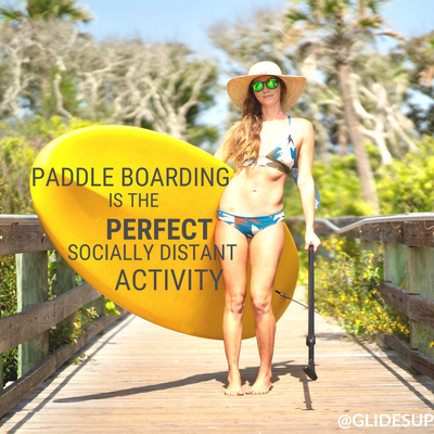Paddle Boarding is the Perfect Socially Distant Activity