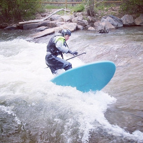 how to whitewater surf