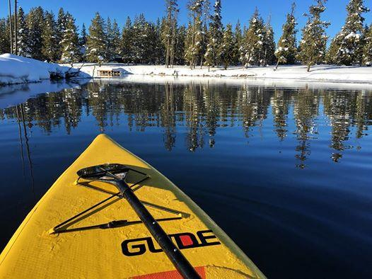 glide cold weather paddle boarding
