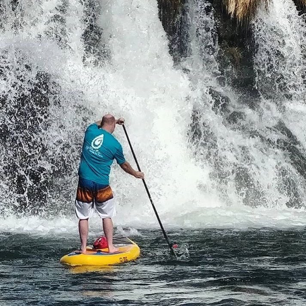 Is paddle boarding safe for old people?