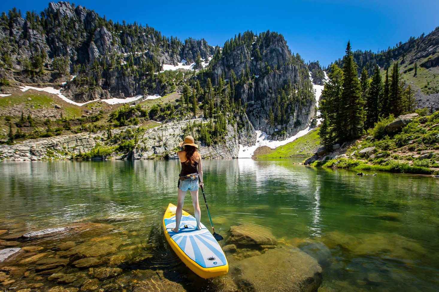 Prettiest places for paddle boarding in the West Coast