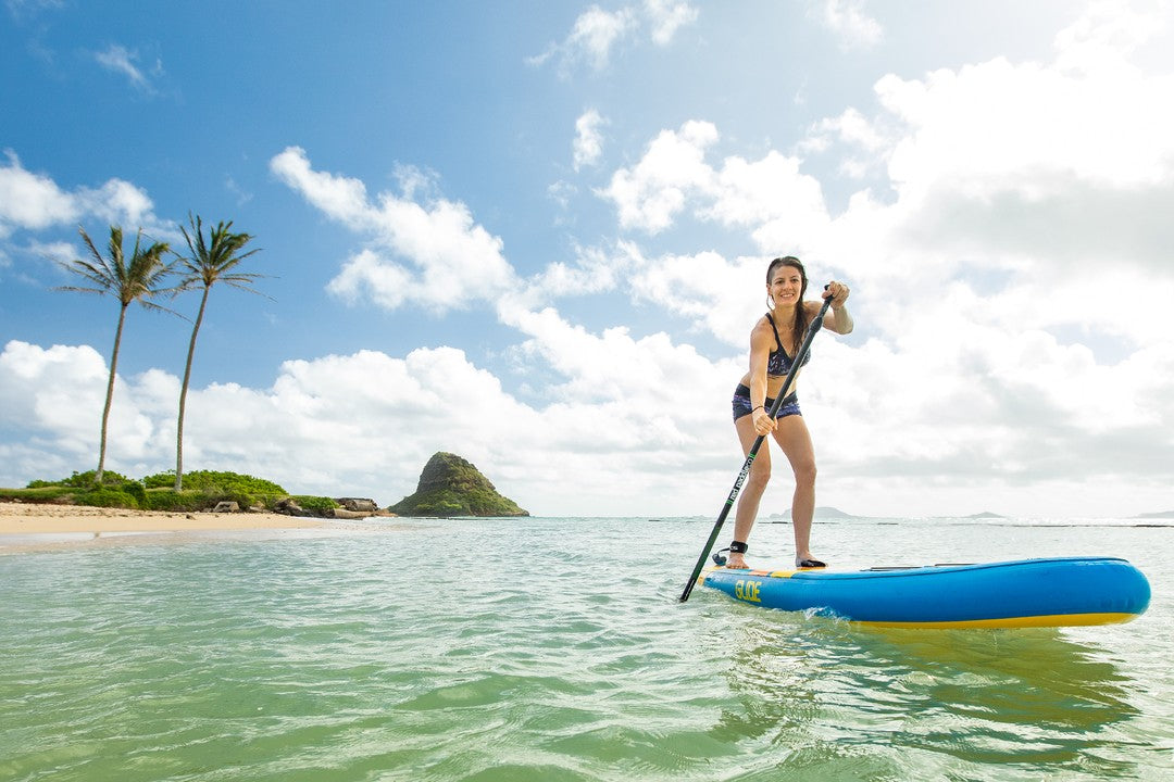 how to paddle board in the wind
