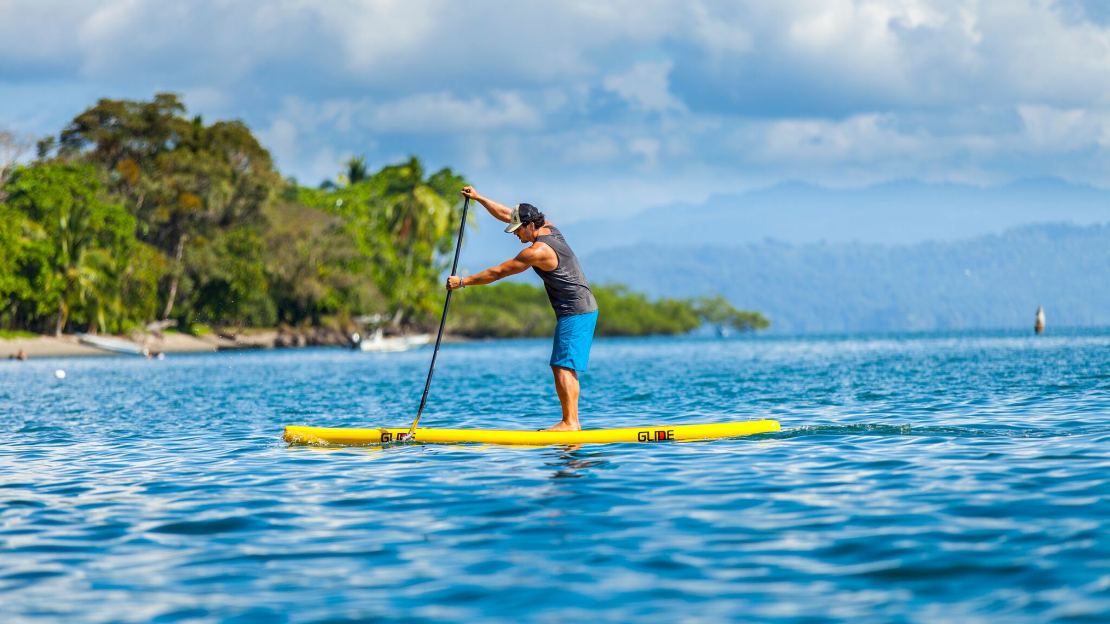 Glide stand up paddle board SUP why you need to quit your gym