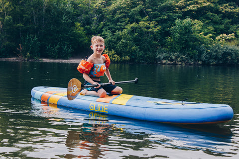 Stand Up Paddle Boarding with Children