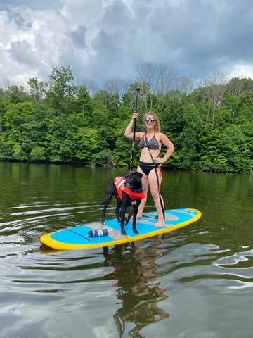 Paddle Board Dog