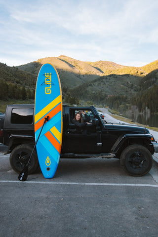 Inflatable Paddle Board Size