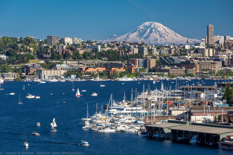 Where to paddle board in Lake Union