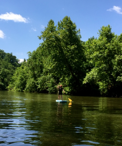 places to SUP in NC