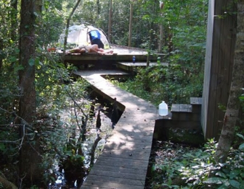 places to SUP in North Carolina