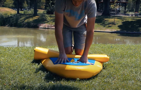 how to deflate your sup