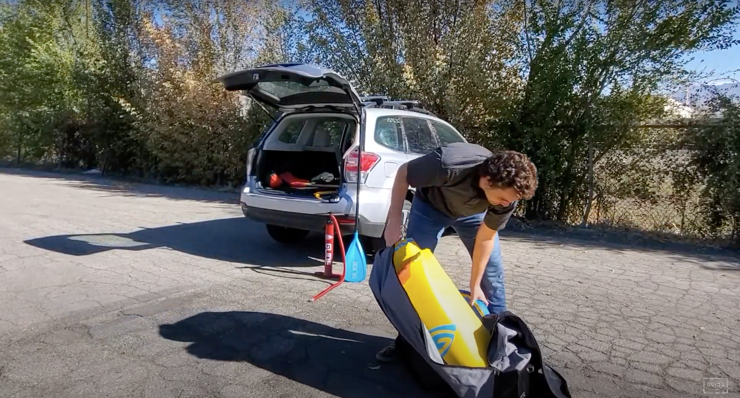 glide inflatable paddle board