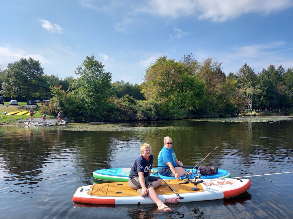 is paddle boarding safe during fall?