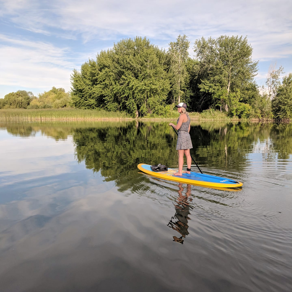 Places to paddle board in Washington State USA