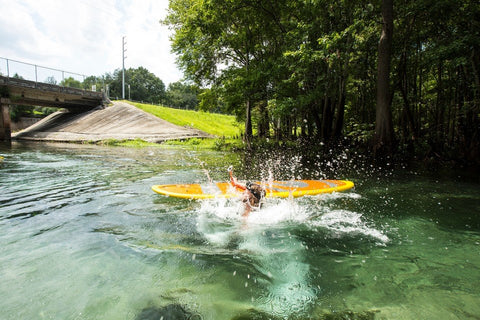 how to get back on a SUP