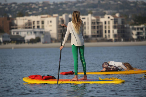 how to paddle on your inflatable SUP