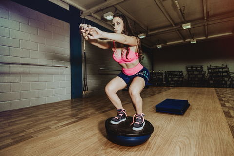 Core strengthening SUP workout