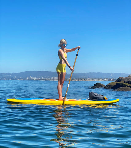 What length should my SUP Paddle be?