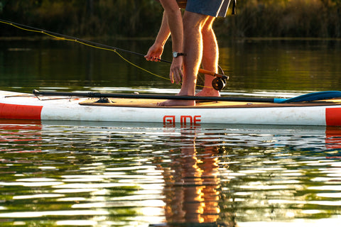 fly fishing paddle board