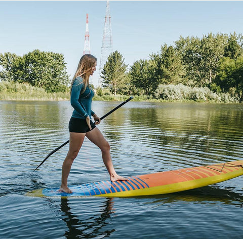 How to paddle on a stand up paddle board