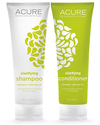 ACURE Clarifying Shampoo & Conditioner