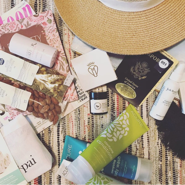 Summer Travel - Clean Beauty Must Haves!