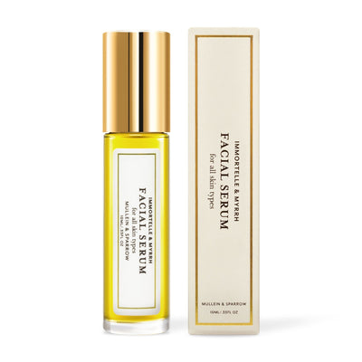 0.33 fl oz Mullein & Sparrow Immortelle & Myrrh Facial Serum - Bella Cuore