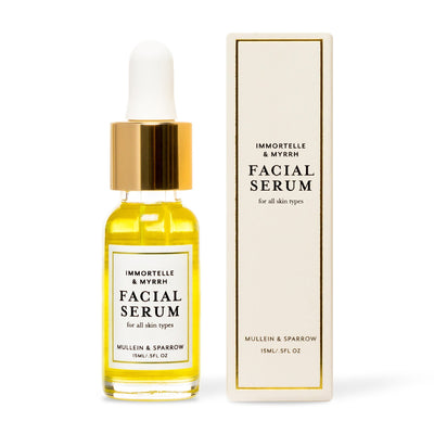 0.5 fl oz Mullein & Sparrow Immortelle & Myrrh Facial Serum - Bella Cuore