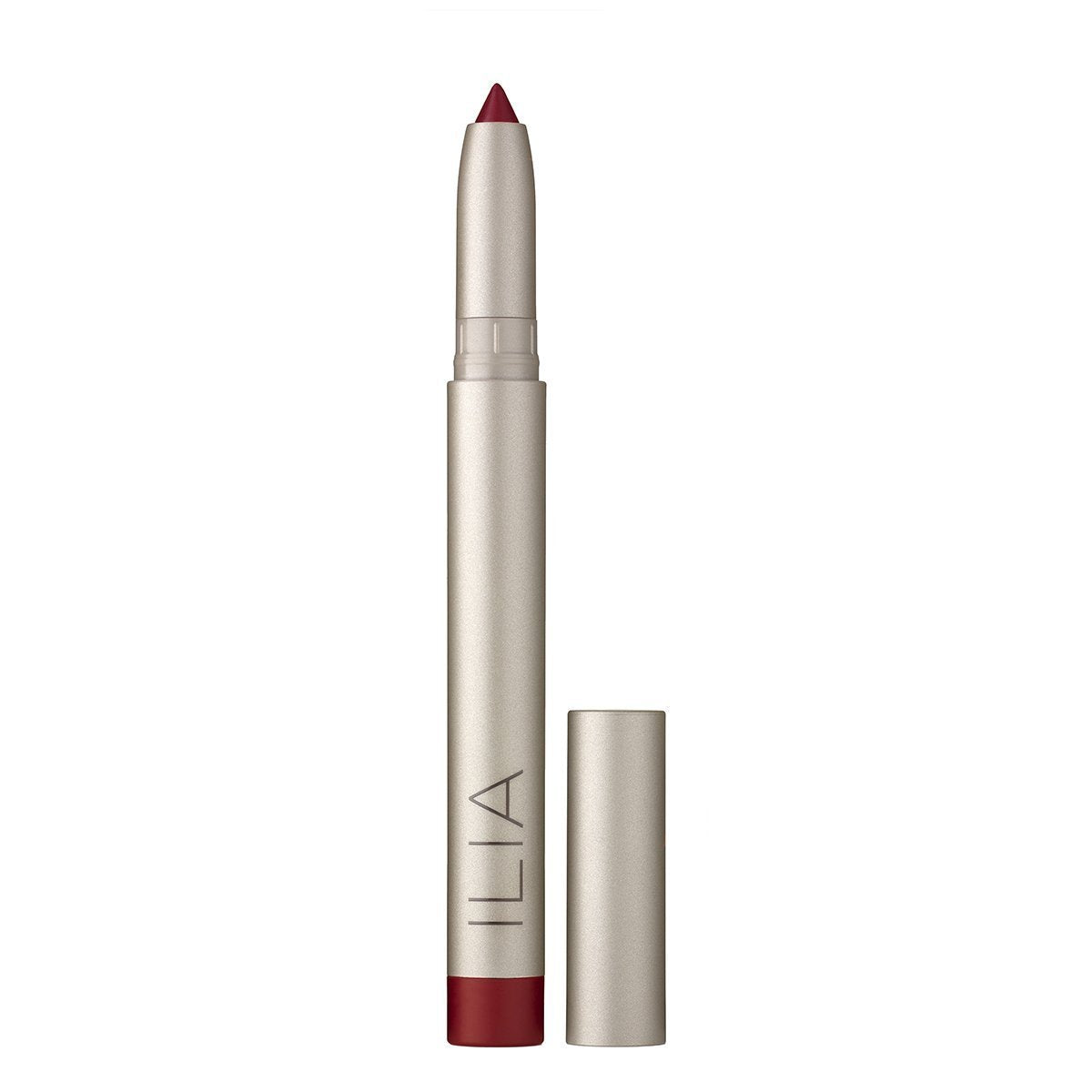 ilia satin cream lip crayon bella cuore