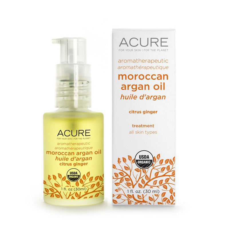 Acure Aromatherapeutic Argan Oil Citrus Ginger - Bella Cuore