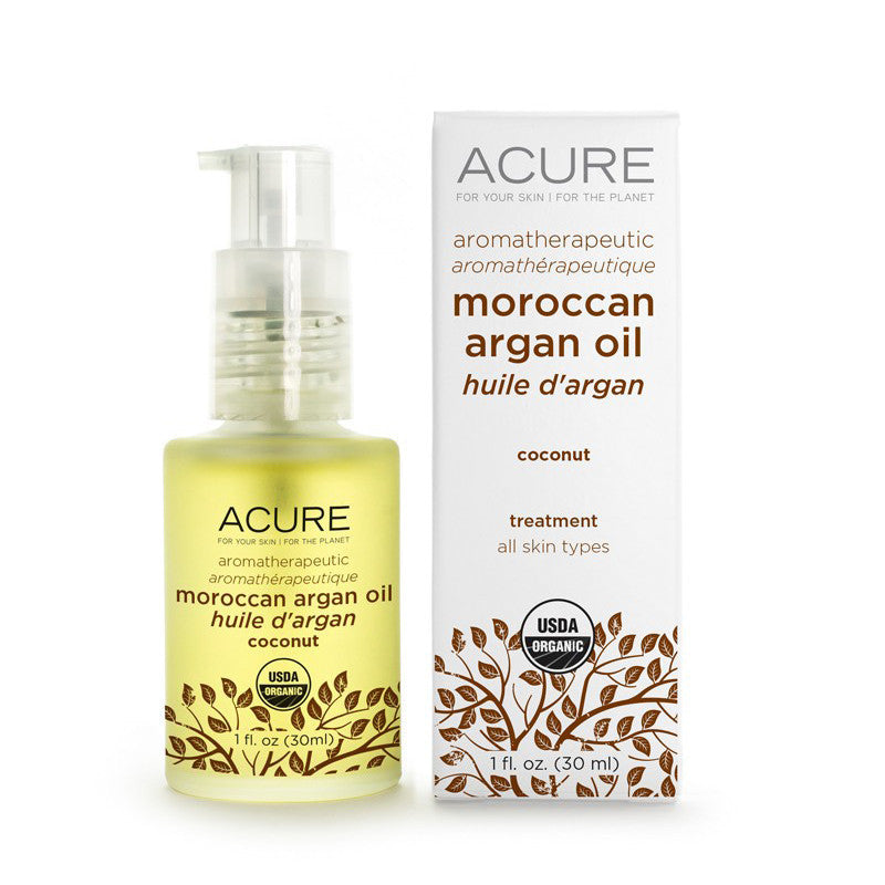 Acure Aromatherapeutic Argan Oil Coconut - Bella Cuore
