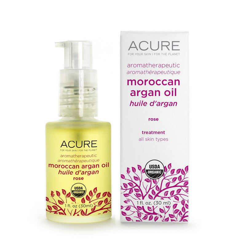 Acure Aromatherapeutic Rose Argan Oil - Bella Cuore