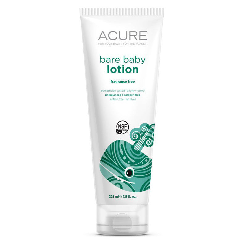 Acure Bare Baby Lotion