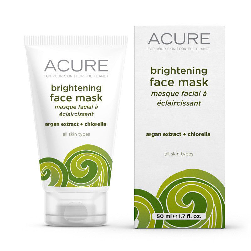 Acure Brightening Face Mask - Bella Cuore
