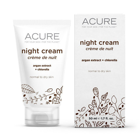 Acure Night Cream - Bella Cuore