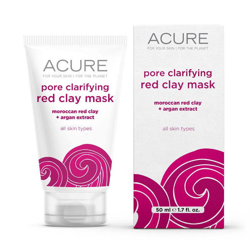 Acure Pore Clarifying Red Clay Mask - Bella Cuore