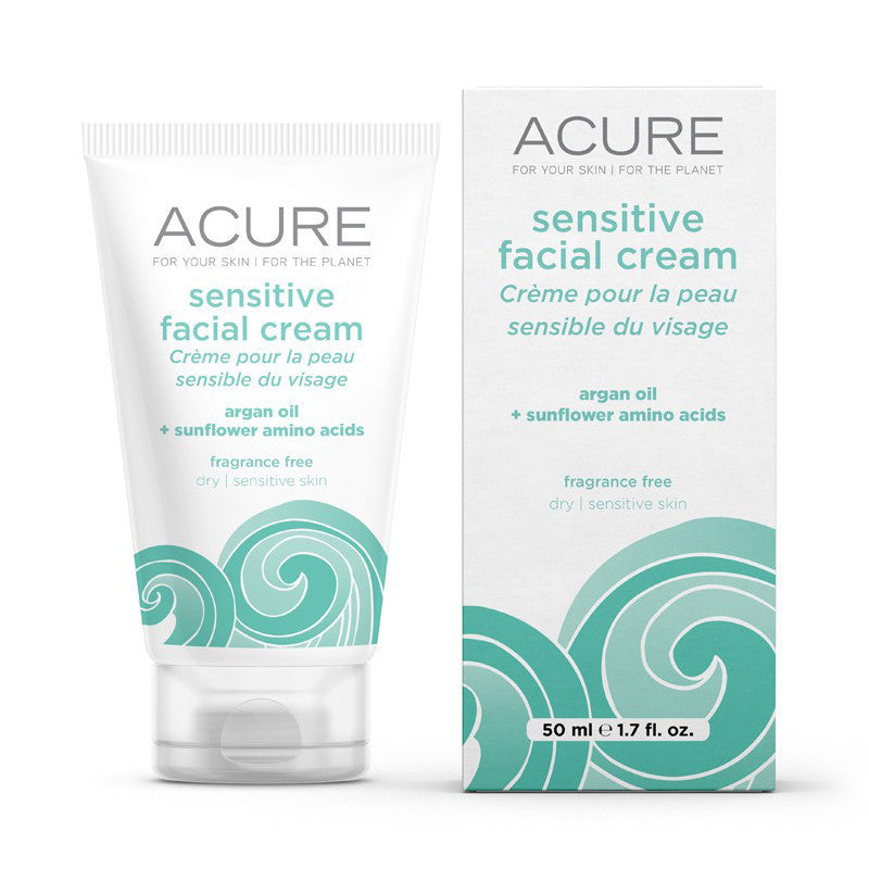 Acure Sensitive Facial Cream - Bella Cuore