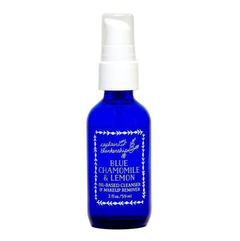 Captain Blankenship Blue Chamomile and Lemon Oil Based Cleanser and Makeup Remover - Bella Cuore