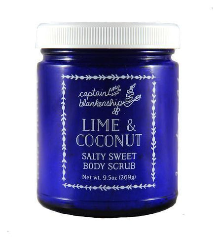 Captain Blankenship Lime and Coconut Salty Sweet Body Scrub - Bella Cuore