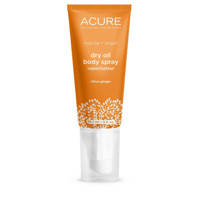 Citrus Ginger Acure Dry Oil Spray - Bella Cuore
