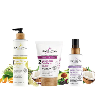 ECO By Sonya Skin Compost 3 Step Skincare System - Bella Cuore