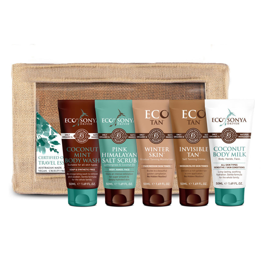 ECO Tan Certified Organic Travel Essentials